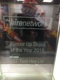 727 Recognised in The Hire Network Awards